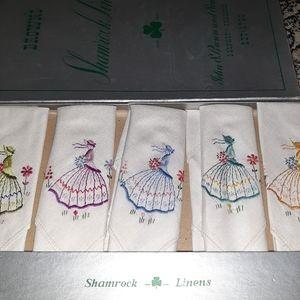 New in box vintage napkins ireland